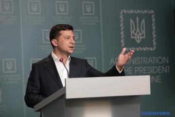 Volodymyr Zelensky se rend dans la région de Jytomyr