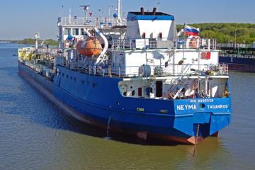ウクライナ保安庁、昨年11月にケルチ海峡を封鎖した露タンカーをだ捕