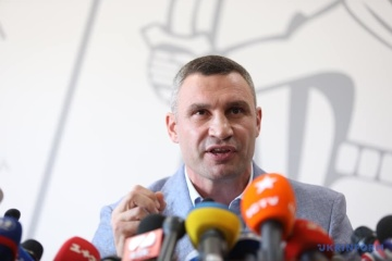 Klitschko says Kyiv has about 200 respiratory medical devices