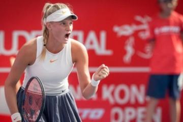 Ястремская отправилась на североамериканскую серию теннисных турниров