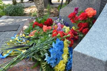 В Днипре почтили память двадцати четырех бойцов, которые погибли под Шахтерском