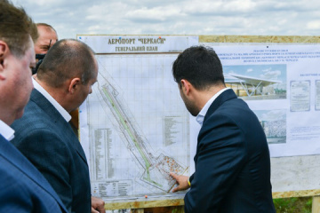 Zelensky wants airport in Cherkasy