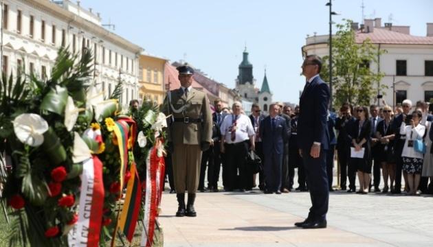 В Польше отмечают 450-летия Люблинской унии