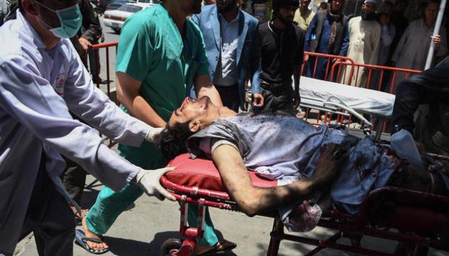 Вибух у дипломатичному районі Кабула: кількість постраждалих зросла до 93