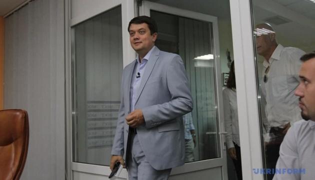Разумков сподівається, що українські телеканали відмовляться від ідеї телемостів з РФ