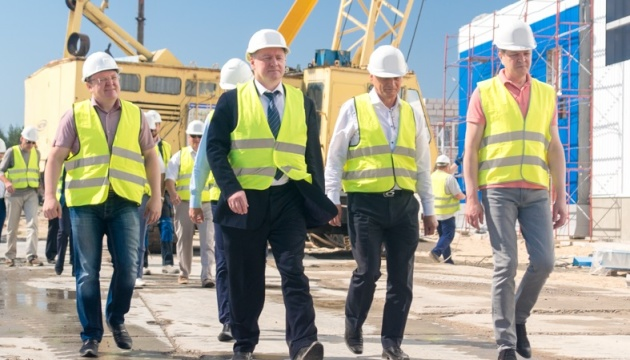 Энергоатом: строительство хранилища отработанного ядерного топлива идет по графику