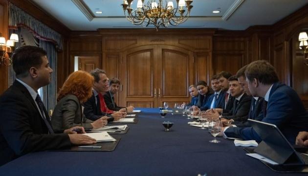 Zelensky : L'Ukraine prête pour un nouveau programme de coopération avec le FMI (photos)