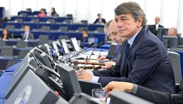 Президент Європарламенту скликає екстрене пленарне засідання з дистанційним голосуванням