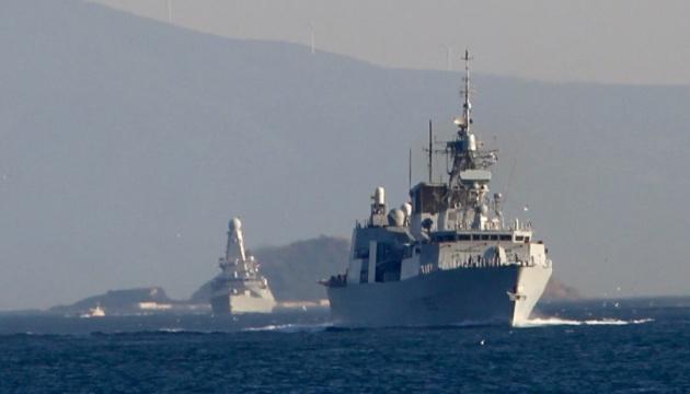 На Sea Breeze прямують три кораблі країн НАТО