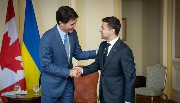 У складні часи Канада завжди поруч з Україною — Зеленський