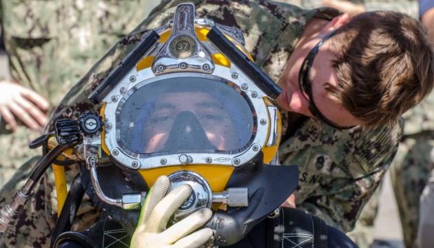 オデーサでの多国間海軍共同演習:6か国の潜水士が共同訓練