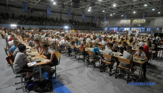 У Вінниці встановили національний рекорд із наймасовішого дитячого шахового турніру