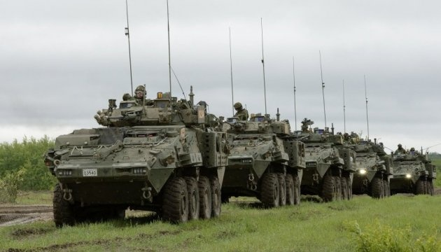 Ukraine, Canada draw up contract for military vehicle supply