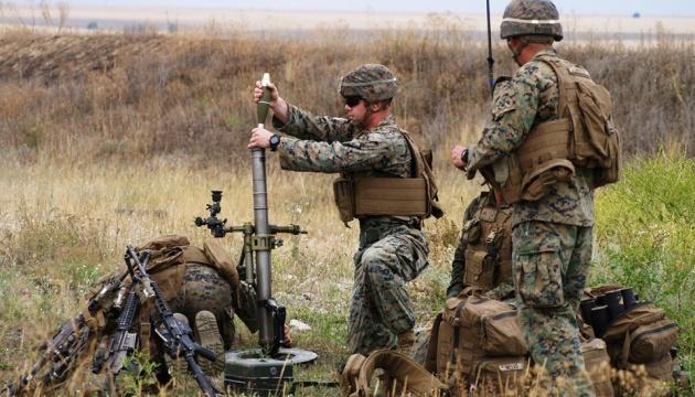 Sea Breeze: українські й американські морпіхи провели бойові стрільби