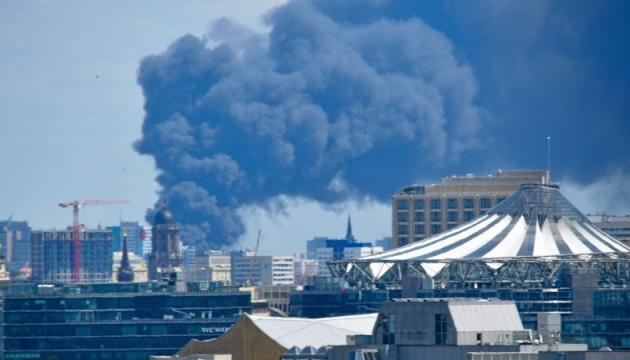 У Берліні горить найбільший в'єтнамський ринок
