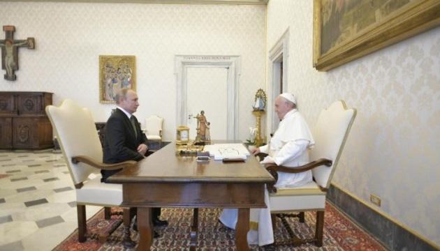 Папа Римский и Путин обсудили Украину