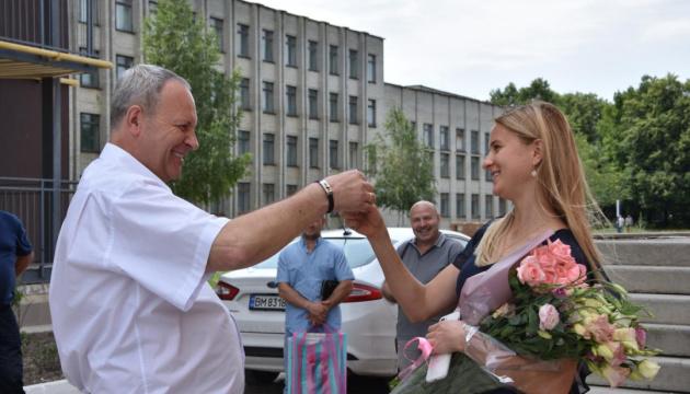 Дворазова чемпіонка світу біатлоністка Журавок отримала в подарунок квартиру в Сумах