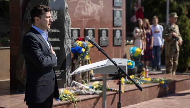 Президент подякував воїнам, які героїчно відстояли Краматорський аеропорт