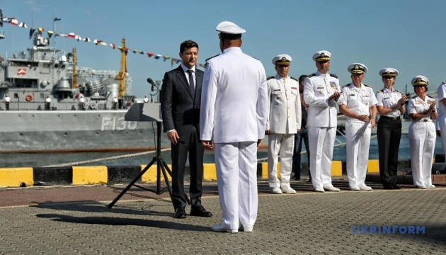 Президент присвоїв 36-й бригаді морських піхотинців ім'я контрадмірала Білинського