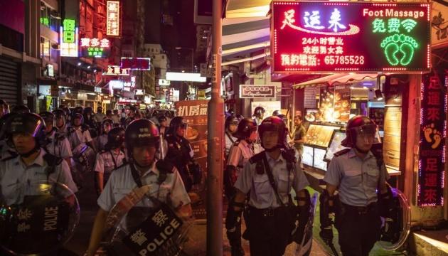 У Гонконгу - зіткнення між протестувальниками та поліцією, є затримані