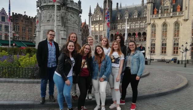 Українські студенти завершили навчання у бельгійському університеті VIVES