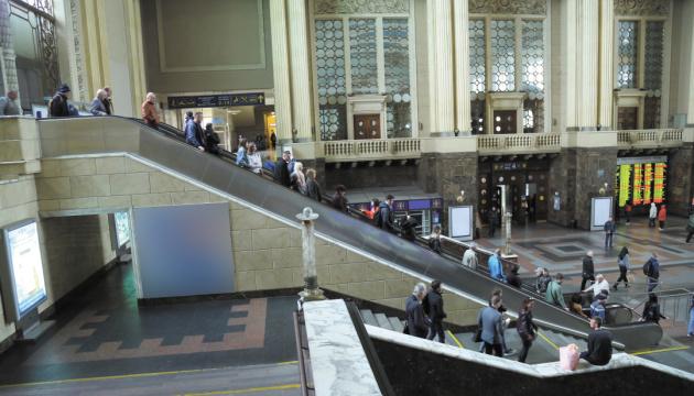 УЗ почала ремонт на Центральному вокзалі