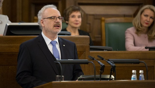 Новий президент Латвії склав присягу