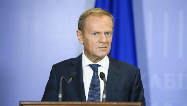 Туск залишив жорстке послання Макрону щодо України та Західних Балкан