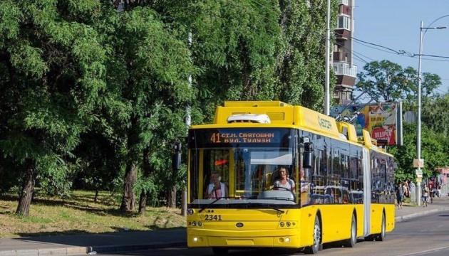 Київ закупив нові тролейбуси з кондиціонерами і відеокамерами