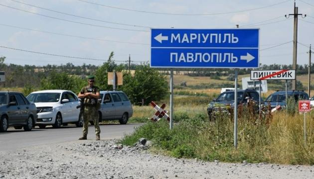 У пунктах пропуску на Донбасі очікують 235 авто