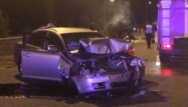 На Київщині двоє військових-контрактників згоріли живцем у авто
