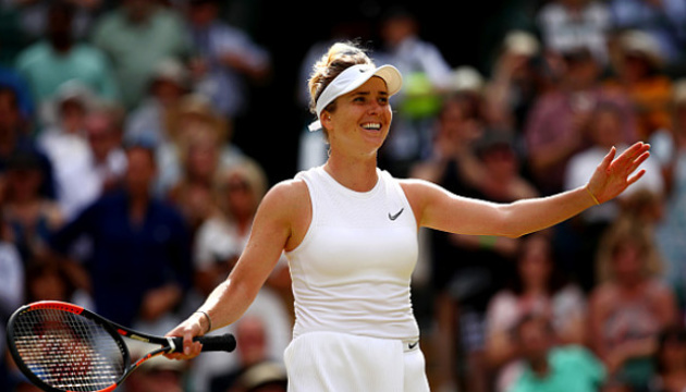 Elina Svitolina avanza a semifinales de Wimbledon 2019  (Vídeo)