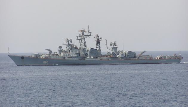 ロシアの艦船、多国籍海軍演習に指定される海域に進入