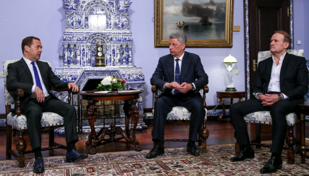 野党・生活党幹部、モスクワにてメドヴェージェフ露首相と再会談