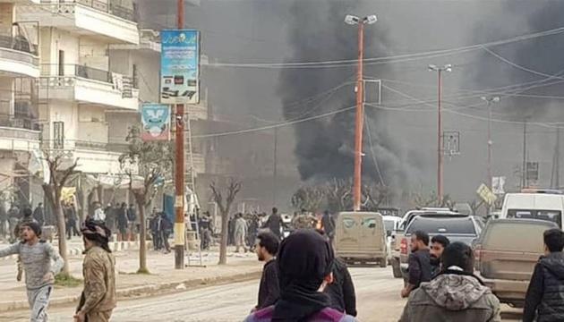 У сирійському Афріні вибухнула автівка, 11 загиблих, ще 35 - поранені