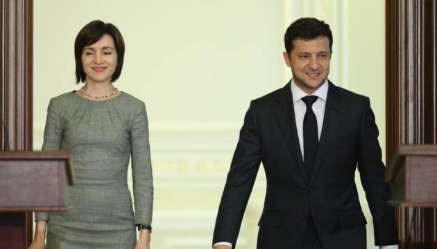 Зеленский во вторник проведет переговоры с Санду