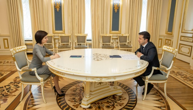 Ukrainian president and Moldovan prime minister discuss economic cooperation between states