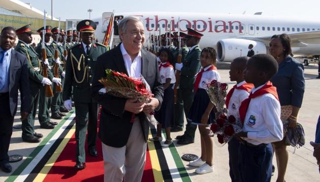 Руйнівні циклони в Південній Африці: до Мозамбіку прибув Генсек ООН
