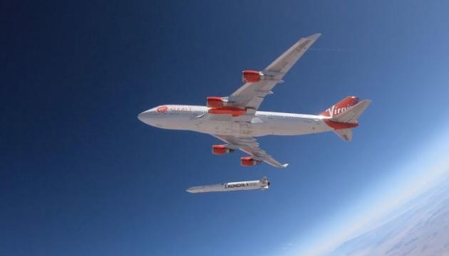 Virgin Orbit успішно запустила ракету-носій з літака