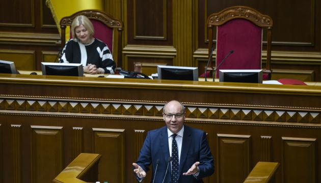 Fast tausend Gesetze und Kodizes: Parubij fasst die Arbeit der Rada zusammen