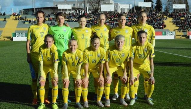 Жіноча збірна України з футболу зберігає 24 місце в оновленому рейтингу ФІФА