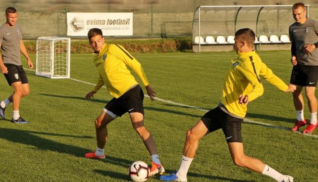 """Футболісти """"Олександрії"""" провели перше тренування на болгарському зборі"""