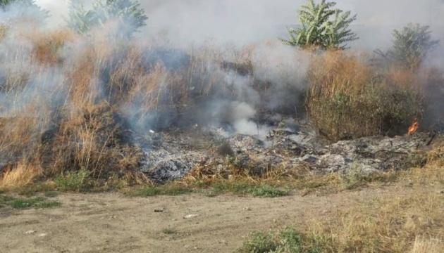 На Миколаївщині вигоріло майже 18 гектарів сухої трави