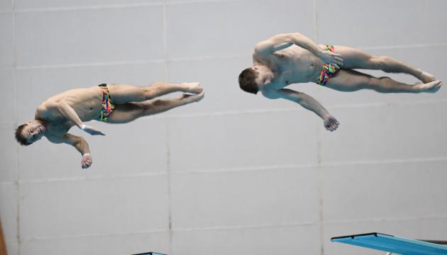 Українці вийшли у фінал синхронних стрибків з трампліну на ЧС з водних видів спорту