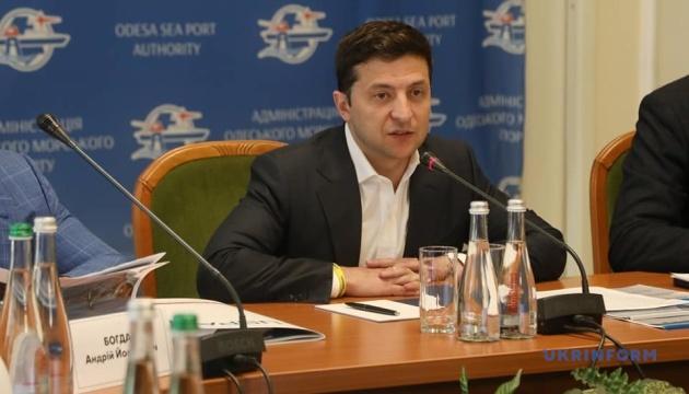 На посаду голови Одеської ОДА проведуть конкурс - Зеленський