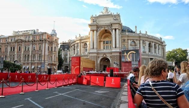 El Festival Internacional de Cine de Odesa arranca en Odesa (Fotos)