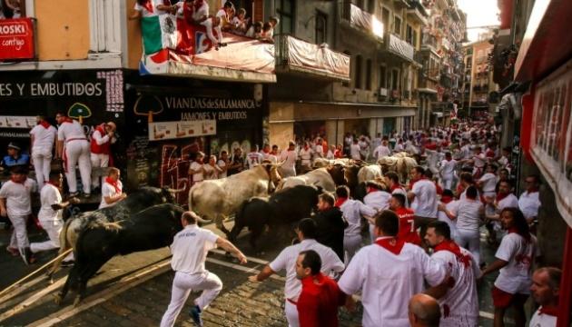 В Іспанії під час забігу биків постраждали п'ятеро людей