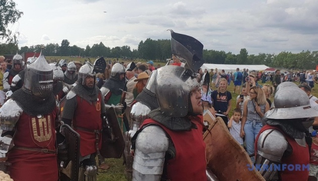 У Польщі провели реконструкцію Грюнвальдської битви