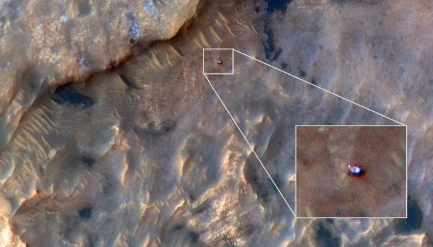 NASA показало, як виглядає Curiosity з космосу