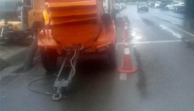 Из-за дождей Киевавтодор работает в усиленном режиме